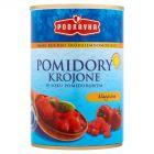 Podravka Smaki kuchni śródziemnomorskiej Pomidory krojone w soku pomidorowym klasyczne 400 g