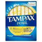 Tampax Pearl Regular Tampony z aplikatorem, 18 sztuk