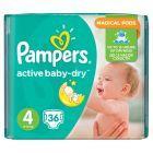 Pampers Active Baby-Dry rozmiar 4 (Maxi), 36 pieluszek
