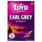 Loyd Earl Grey Herbata czarna ekspresowa aromatyzowana 120 g (80 torebek)