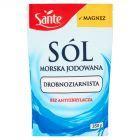 Sante Sól morska jodowana drobnoziarnista 350 g
