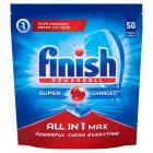 Finish All in 1 Max Tabletki do zmywarki 815 g (50 sztuk)