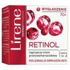 Lirene Retinolowe Odżywienie 70+ Naprawczy krem przeciwzmarszczkowy na dzień i noc 50 ml