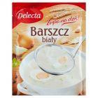 Delecta Zupa na dziś! Barszcz biały 42 g