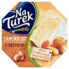NaTurek Nasz Camembert z grzybami Ser 120 g