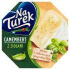 NaTurek Nasz Camembert z ziołami Ser 120 g