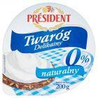 Président Twaróg Delikatny naturalny 0% 200 g