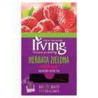 Irving Herbata zielona malinowa 30 g (20 torebek)