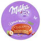 Milka Choco Wafer Wafelek z nadzieniem orzechowym oblany czekoladą mleczną 30 g
