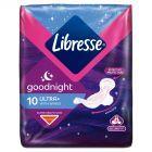 Libresse Ultra Goodnight Flex System Podpaski 10 sztuk