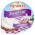 Président Twaróg Delikatny czosnek 200g