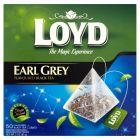 Loyd Earl Grey Herbata czarna aromatyzowana 85 g (50 torebek)