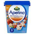 Arla Apetina z czerwoną papryką i chili Ser w kostkach 200 g