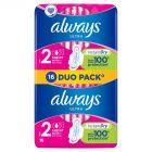 Always Ultra Super Plus Podpaski higieniczne ze skrzydełkami 16 sztuk
