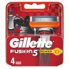 Gillette Fusion Power Ostrza wymienne do maszynki do golenia, 4 sztuki