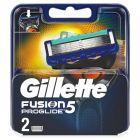 Gillette Fusion ProGlide Ostrza wymienne do maszynki do golenia, 2 sztuki