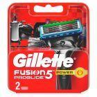 Gillette Fusion Ostrza wymienne do maszynki do golenia, 2 sztuki