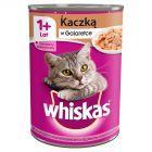 Whiskas 1+ lat Karma pełnoporcjowa z kaczką w galaretce 400 g