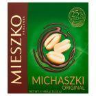 Mieszko Michaszki Original Cukierki z orzeszkami arachidowymi w czekoladzie 440 g