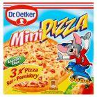 Dr. Oetker Mini pizza ser + pomidory 255 g (3 sztuki)