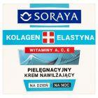 Soraya Kolagen + Elastyna Pielęgnacyjny krem nawilżający na dzień i na noc 50 ml