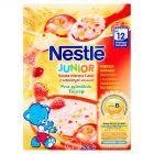 Nestlé Junior Kaszka mleczna 5 zbóż z czerwonymi owocami po 12 miesiącu 250 g