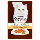 Gourmet A la Carte Z indykiem zielonym groszkiem i marchewką Karma dla dorosłych kotów 85 g