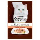 Gourmet A la Carte Z łososiem szpinakiem cukinią i zieloną fasolą Karma dla dorosłych kotów 85 g