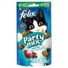 Felix Party Mix Ocean Mix Łakocie o smaku łososia ryby dorszowatej i pstrąga 60 g