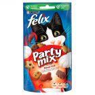 Felix Party mix Mixed Grill Przekąska o smaku wołowiny kurczaka i łososia 60 g