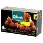 Dilmah Cejlońska czarna herbata z aromatem mango i truskawki 30 g (20 torebek)