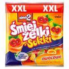 nimm2 Śmiejżelki Sokki Nadziewane żelki owocowe wzbogacone witaminami oraz sokiem owocowym 165 g