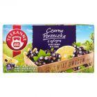 Teekanne World of Fruits Black Currant with Lemon Aromatyzowana mieszanka herbatek 50 g (20 x 2,5 g)