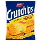 Crunchips X-Cut Ser-Cebula Chipsy ziemniaczane 150 g