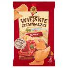 Wiejskie Ziemniaczki Chipsy ziemniaczane o smaku paprykowym 130 g