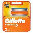 Gillette Fusion Ostrza Wymienne Do Maszynki Do Golenia Dla Mężczyzn, 2 sztuki