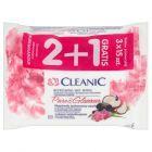 Cleanic Pure and Glamour Chusteczki odświeżające z płynem antybakteryjnym 3 x 15 sztuk