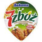 Bakoma 7 zbóż Jogurt z orzechami włoskimi i ziarnami zbóż 150 g