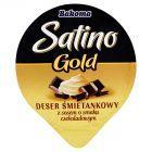 Bakoma Satino Gold Deser śmietankowy z sosem o smaku czekoladowym 140 g