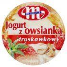 Mlekovita Jogurt z owsianką truskawkowy 180 g