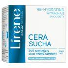 Lirene Cera Sucha Duo nawilżający krem Hydro-Comfort na dzień i noc 50 ml