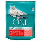 PURINA ONE Sterilcat Pełnoporcjowa karma dla dorosłych kotów bogata w łososia i pszenicę 800 g
