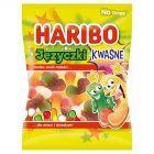 Haribo Fizz Języczki Żelki o smaku owocowym 100 g