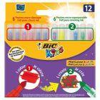 Bic Kids Mini Colour & Create Flamastry mini 12 kolorów