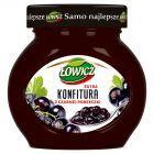 Łowicz Konfitura extra z czarnej porzeczki niskosłodzona 240 g