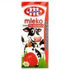 Mlekovita Wypasione Mleko o smaku truskawkowym 200 ml