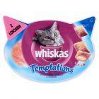 Whiskas Temptations z łososiem Karma uzupełniająca dla kotów 60 g