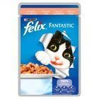 Felix Fantastic Karma dla kotów z łososiem w galaretce 100 g
