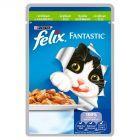 Felix Fantastic z królikiem w galaretce Pełnoporcjowa karma dla kotów 100 g