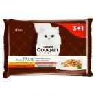 Gourmet A la Carte Pełnoporcjowa karma dla dorosłych kotów 4 x 85 g